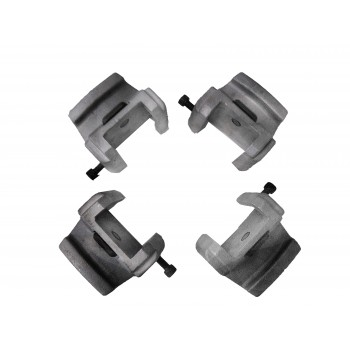 Súprava ochranných krytiek pre hliníkové ráfiky